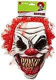 Smiffys SM35710 Halloween! Smiffys Maske Schrecklicher Clown, Über...
