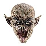 Qlan Halloween Horror Maske Latex Tierkopf Maske für Halloween Party...