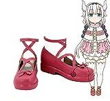 Telacos Miss Kobayashi's Dragon Maid Kanna Kamui Cosplay Schuhe...
