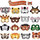 16 Stücke Tier Masken Tier Kostüm Party Gefallen mit 16...