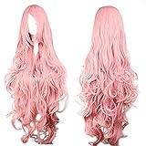 Perücke Pink Rosa ca. 90cm für VOCALOID Luka Cosplay oder...