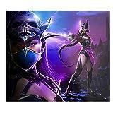 Fantasy Mortal Party Cosplay Monster Mileena Kitana Fanart Kunstdruck,...