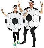 Foxxeo Fußball Kostüm für Damen und Herren für Vereine Fasching...