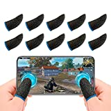Newseego PUBG Mobile Game Finger Sleeve[10 Pack], Touchscreen...