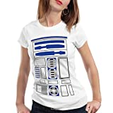 style3 R2 Einheit Damen T-Shirt Astromech droide