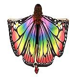Damen Schmetterling Kostüm Schmetterling Schal Flügel Tuch...