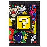 Super Mario Fragezeichen Block Bowser Bob-omb Portemonnaie Geldbörse...