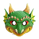 GQFDBS Kinder Drachen Maske Cosplay Maske Party Halloween Kostüm...