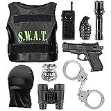 Widmann 00323 - Kostümset S.W.A.T. für Kinder, kugelsichere Weste,...