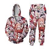 Anime Darling Cosplay Kostüm FRANXX Zero Two Battle Face Sweatshirt...