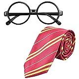 NATUCE Brille Krawatte Kostüm für Kinder Cosplay Kostüme...