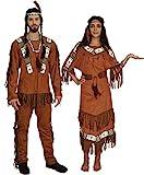 MAYLYNN Kostüm Indianerin Indianer Indianerkostüm Nodyn, Herren...