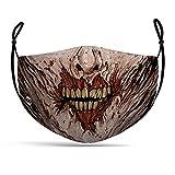 MW Maskworld Zombie-Maske Stoffmaske Alltagsmaske Gesichtsmaske mit...