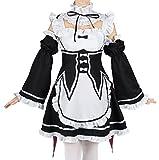 CoolChange Maid Uniform von Ram & Rem   Dienstmädchen Cosplay Kostüm...