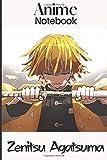Zenitsu Agatsuma Anime Notebook: Demon Slayer Kimetsu no Yaiba,...