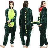 Tier Pyjama Onesies Fasching Halloween Kostüm Schlafanzug Cosplay...
