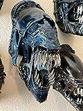 Alien Sculptures-Mucus Xenomorph Head Wanddekoration, Aliens Model...