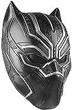 Schwarz Panther Maske Kostüm Deluxe Halloween Schwarz Helm Herren...