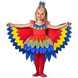 Amscan - Kinderkostüm Papageien Fee, Kleid mit Tüll Rock und...