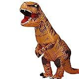 Zi Xi & Zi Qi T-Rex Alien Inflatable Dinosaur Mascot Party Costume...