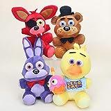 yunding 4Pcs Five Nights at Freddy's Plush Toys 25Cm, Stuffed Toys...