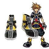 WSJDE Kingdom Hearts 2 Sora Cosplay Shoes Halloween Party Fancy Boots...
