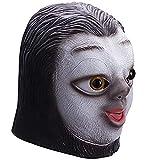 molezu Faultier Maske Latex Tier maskeTierkopf Maske Halloween Kostüm...