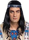 Generique - Winnetou-Perücke für Erwachsene Kostümzubehör...
