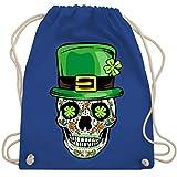 St. Patricks Day - St. Patrick's Day - Totenkopf - Unisize -...