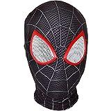 QWEASZER Peter Parker Spider-Man Maske schwarz Miles Morales...