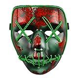 The Purge Wahl Jahr LED Leuchtend Maske fest Halloween Kostüm