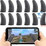 12 Stücke Finger Touchscreen Handy Spiel Finger Sleeve Kontroller...
