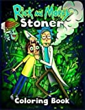 rick and morty STONER coloring book: Anxiety rick and morty Coloring...
