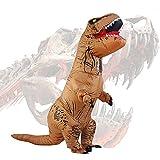 Halloween erwachsene aufblasbare T-rex Dinosaurier-Partei-Kostüm...
