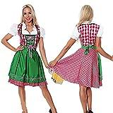 thematys Dirndl Oktoberfest Trachtenkleid - Kostüm-Set für Damen -...
