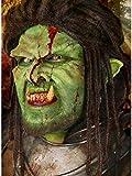 Maskworld Kleine grüne Orkohren aus Latex mit Mastix Hautkleber -...