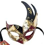 Lannakind Handgefertigte Venezianische Maske Augenmaske Colombina...