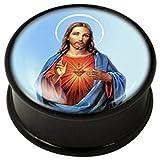 PMMA Ikon Fleisch Stecker - Stecker Ikon Heiligen Jesus 10mm