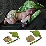 Fotografie-Zubehör-Set für Babys, Joda-Kostüm, handgefertigt, für...