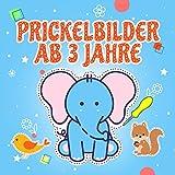 Prickelbilder ab 3 Jahre: Lustiges Prickel Block für Mädchen und...