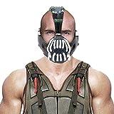 Xcoser Bane Mask Costume Batman TDKR Full Adult Size V2 Version