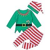Freebily Baby Weihnachtsoutfit Jungen Mädchen Strampler Weihnachten...