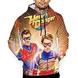 maichengxuan Henry Danger Sweatshirts für Herren 3D Pullover Mode...