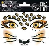 HERMA 15303 Face Art Sticker Leopard Gesicht Aufkleber Glitzer Sticker...
