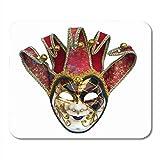 AOHOT Mauspads Theater Joker Mask Venetian Bells Carnival Costume...