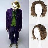 Royalvirgin Cosplay-Perücke Der Joker, Kunsthaar, kurz, flauschig,...