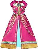 EMIN Mädchen Kinder Prinzessin Jasmine Aladdin Kostüm Verkleidung...
