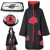 Naruto Akatsuki Mantel Cosplay Akatsuki Uchiha Itachi Kostüm Amine...