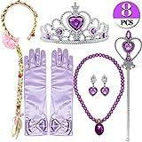 Bascolor Prinzessin Sofia Kostüm Zubehör Set inklusive Handschuhe...
