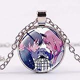 Halskette mit Anhänger Anime Darling in The FRANXX Hiro Zero Zwei...